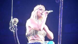 Britney Spears Everytime Live O2 Arena London The Circus Tour United Kingdom