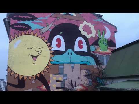 Graffiti Murals Reykjavík Iceland