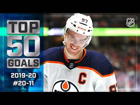 Top 50 Gorgeous Goals ... So Far: #20-11 | 2019-20 NHL Season