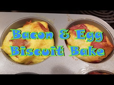 Bacon & Egg Biscuit Bake
