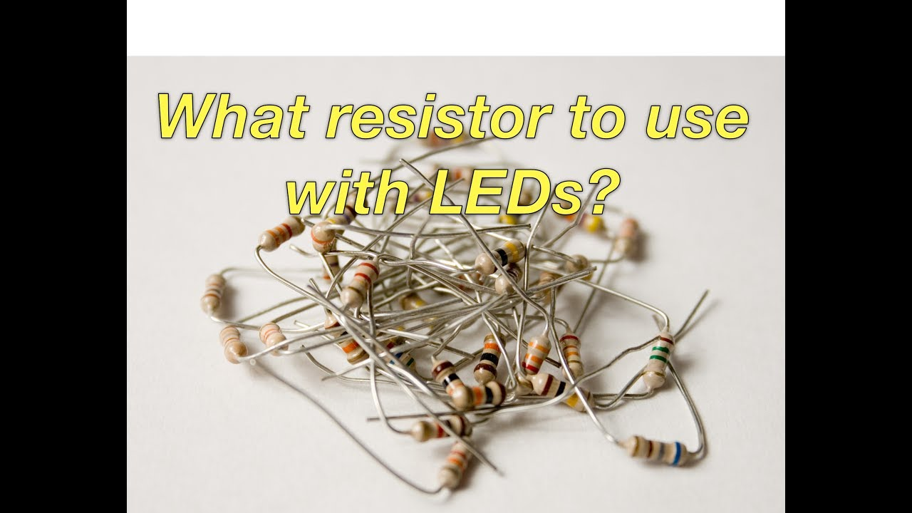 With resistors leds use why Why do