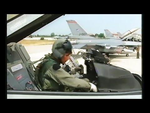 1993 - Operation Deny Flight | Dutch F-16's enforcing No-Fly zone Bosnia