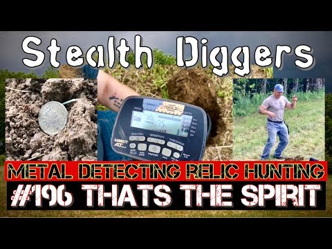 #196 Thats the spirit - metal detecting farm field - Noodles returns Joe gets another first