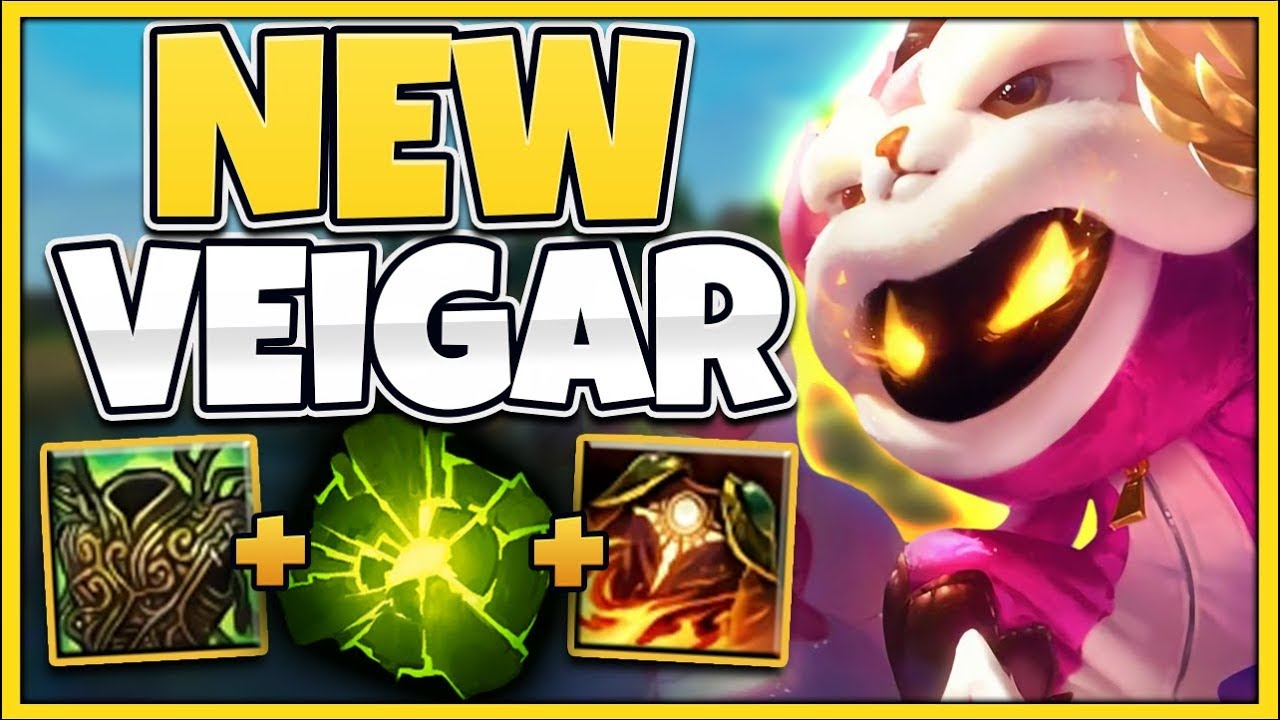 WTF?! VEIGAR CAN ONE-SHOT ANYONE WHILE UNKILLABLE?!? (NEW SKIN) – League of Legends