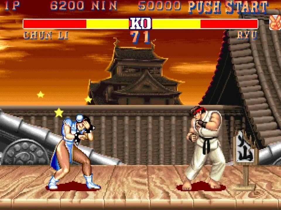 Street Fighter Ii The World Warrior Ryu Vs Ryu Glitch Youtube