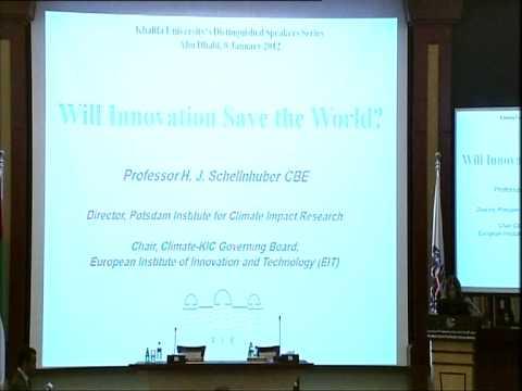 Hans Joachim Schellnhuber - Khalifa University Distinguished Speaker (Part 1-4)