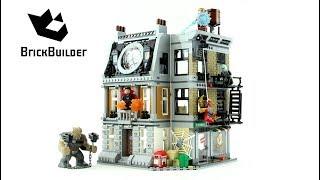 Lego Super Heroes 76108 Sanctum Sanctorum Showdown - Lego Speed Build