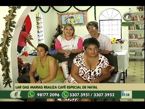 Em Manaus, Lar das Marias realiza café especial de Natal solidário