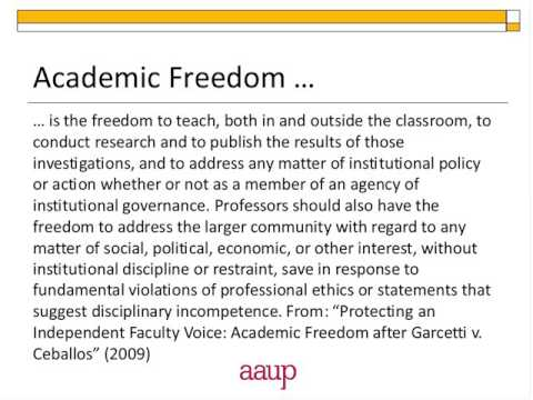 "ACRL Presents ""Academic Freedom in the Digital Age"""