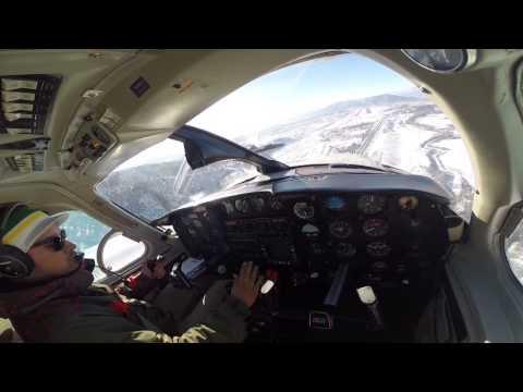 PA31 Navajo Landing Eagle, Colorado.