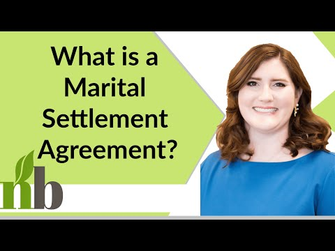 What is a Marital Settlement Agreement? | Huntsville Divorce Lawyers | New Beginnings Family Law