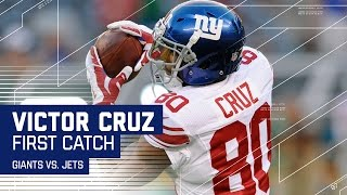 Victor Cruz Makes His 1st Catch in 685 Days! (Preseason) | NFL