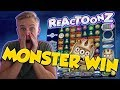 BIG WIN!!! Reactoonz Huge Win - Online Casino - Casino Games (muted mic)