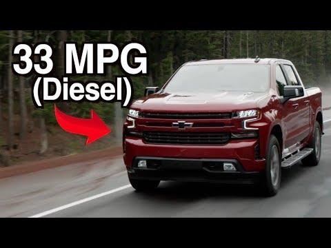 2020 Chevy Silverado Diesel Beats Ford F-150 Diesel on MPG