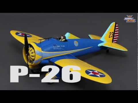 HobbyKing Product Video - P-26A Peashooter EPO 800mm (PNF)