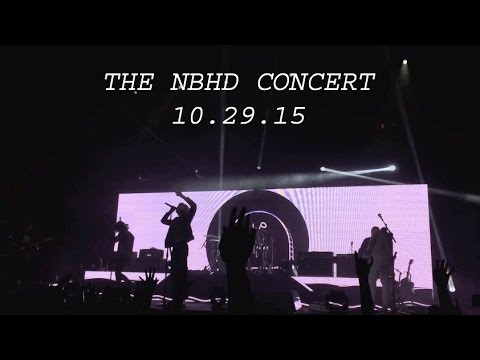 THE NBHD CONCERT