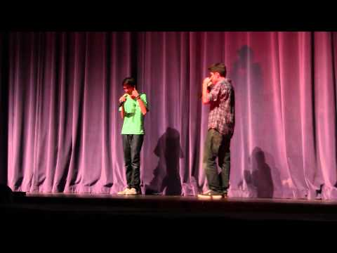 Shan and Shajit  2011 CHS Talent