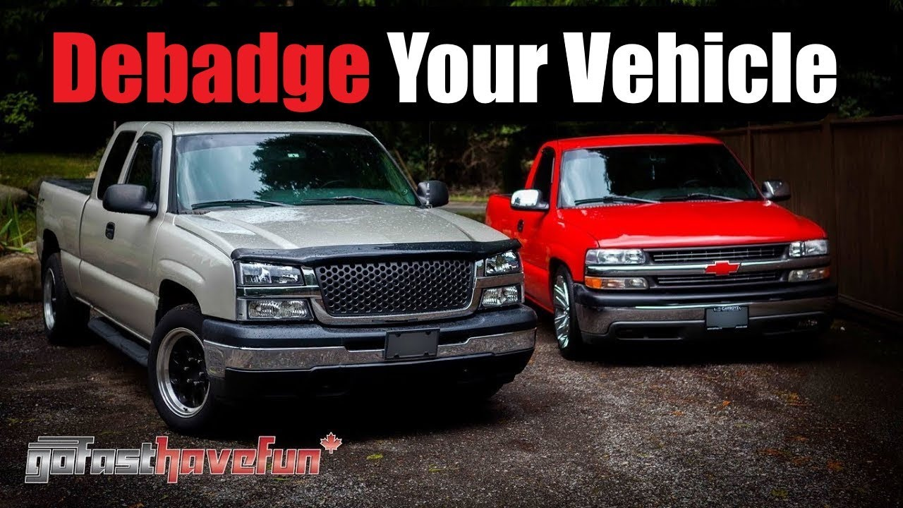 De Badge Your Car Or Truck Remove Molding From A Vehicle