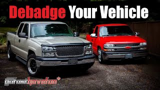 DE-BADGE your Car or Truck / Remove molding from a vehicle | AnthonyJ350