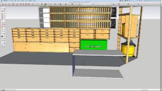 Building A Mobile Woodshop (part 13) 3d Design Saves Material And Reduces Shop Time.