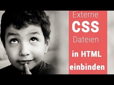 Externe JavaScript Und CSS Datein Einbinden - HTML, JS, CSS, Web [German/Deutsch]