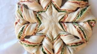 Star pizza bread