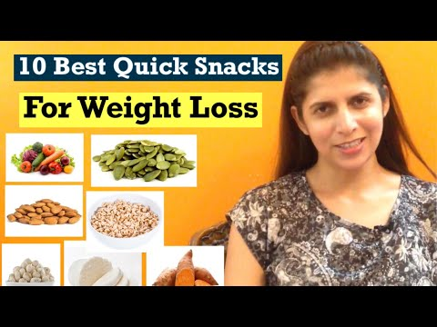 10 Healthy Instant Snacks For Weight Loss | Quick Office, Travel Snacks To Lose Weight | In Hindi