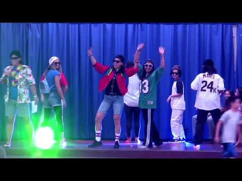 Lip Sync Battle: Finesse - Bruno Mars, Cappy B and the Office Hooligans - Hahaione Elementary School