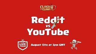LIVE – Reddit vs YouTube