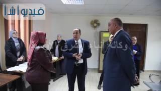 بالفيديو محافظ الإسكندرية يتفقد إدارات ديوان عام المحافظة