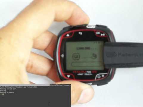 Reverse Engineering A GPS Watch To Upload Custom Firmware