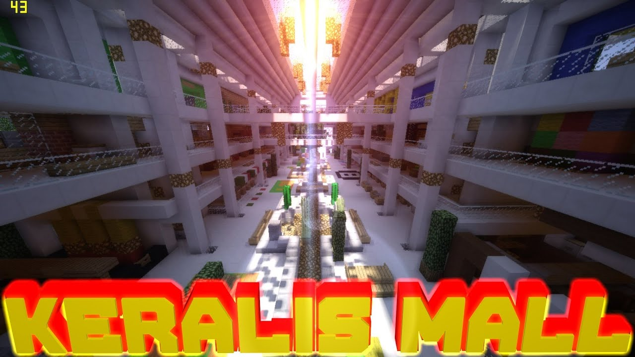 081minecraft pe keralis modern mall download youtube