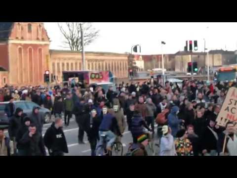 ACTA Demonstration - Copenhagen, Denmark