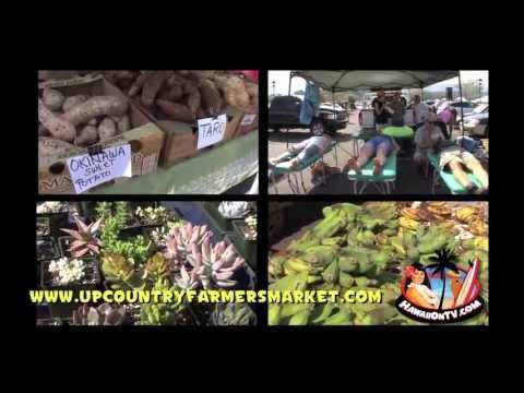 Upcountry Farmers Market - Kulamalu Town Center, Maui Hawaii