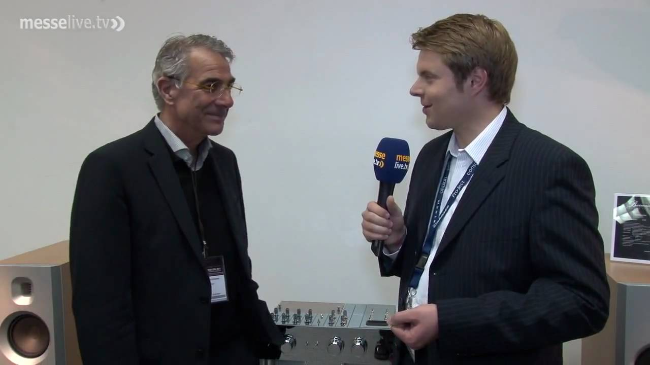 Interview mit dieter burmester auf der high end 2010 in for Dieter burmester