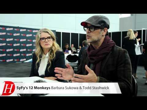 12 MONKEYS  with Barbara Sukowa, Todd Stashwick NYCC 2015