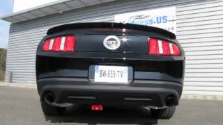 Echappement Ford Racing pour Ford Mustang GT 2011 à 2014