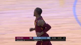 3rd Quarter, One Box Video: Memphis Grizzlies vs. Cleveland Cavaliers