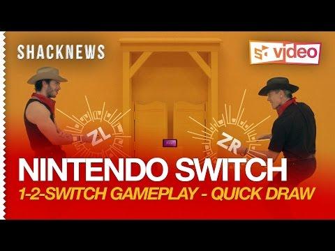 Nintendo Switch: 1-2-Switch Gameplay - Quick Draw