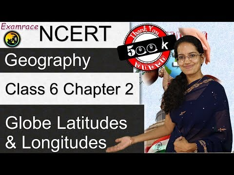 NCERT Class 6 Geography Chapter 2: Globe Latitudes and Longi