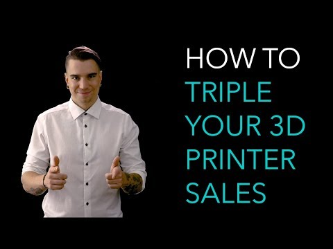 How to triple your 3D printer sales with 5 secret marketing tricks