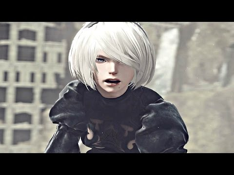 Nier Automata - All Cutscenes / Full Movie (All Characters) ALL ENDINGS