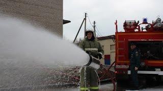 Мужеству пожарных посвящается