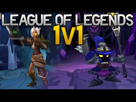 Veigar is the Devil! - League of Legends 1v1 Funny Moments
