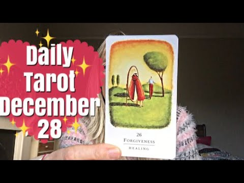 Daily Tarot 28 December 2017 🙏✨ Where is it?? 🙏✨