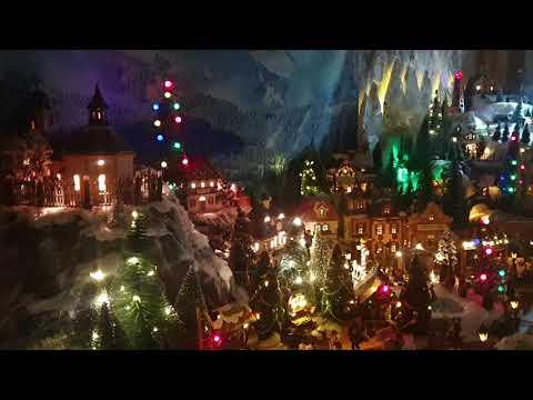 Christmas Night Village. Wonderland 2019