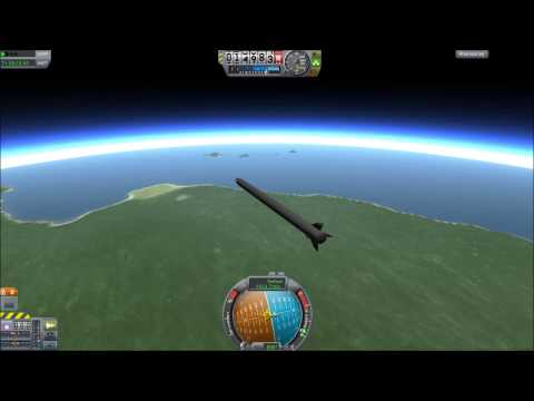Kerbal Space Program - Rods From The Gods Mod - No Longer Flawed