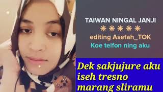 Download lagu TAIWAN NINGAL JANJI KARAOKE FULL
