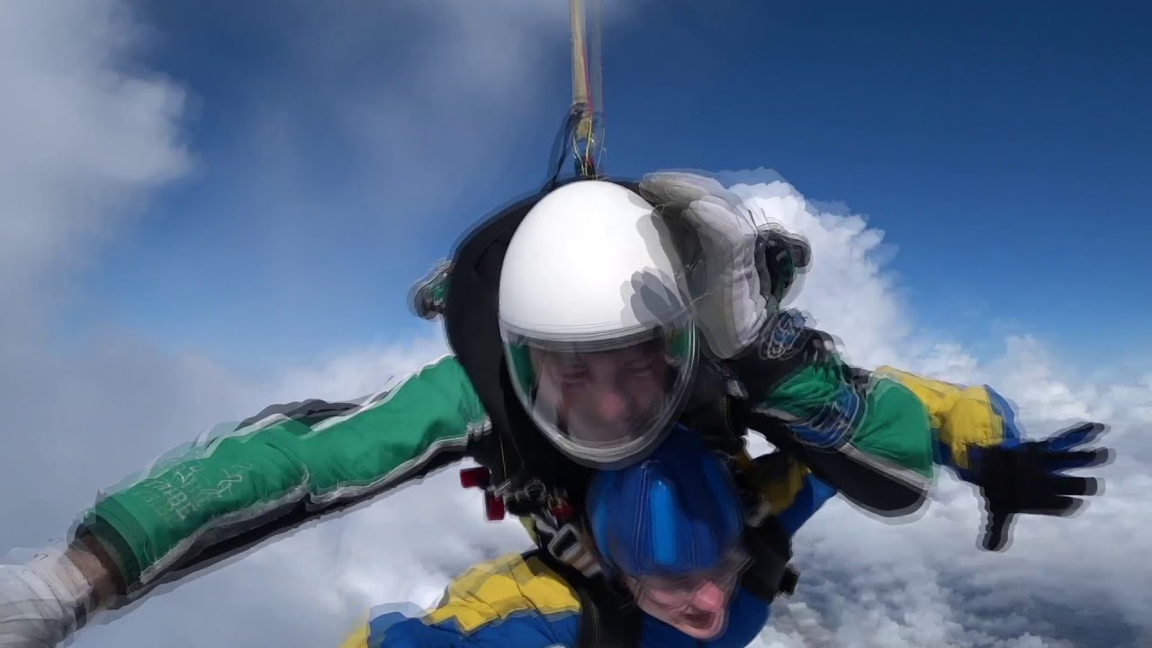 Charity skydive - British Heart Foundation