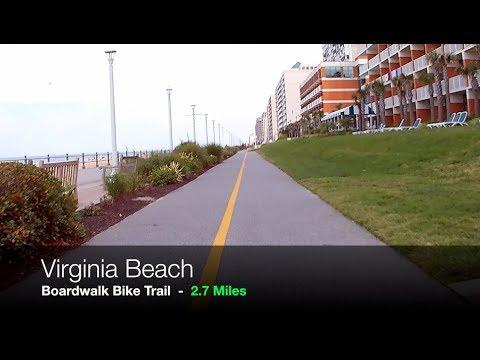 Virginia Beach Boardwalk Bike Trail